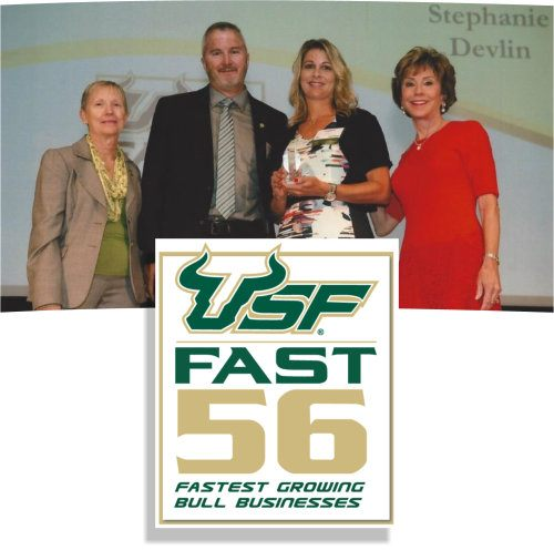 Devtech Advantage Newsletter - Devtech: 2016 USF Fast 56 Award Recipient